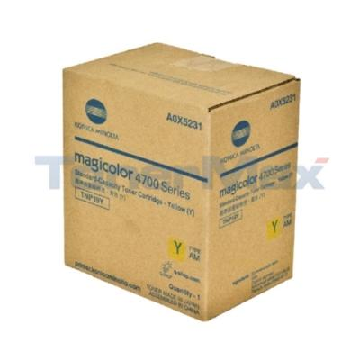 KONICA MINOLTA MAGICOLOR 4750 TONER YELLOW